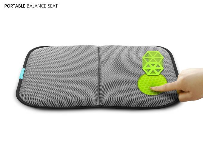 밸런스온 브랜드는 방석이 주력제품으로 건축 공학 기술을 모티브로 한 멀티레이어 허니콤 구조 디자인이 핵심이다. /사진제공=불스원