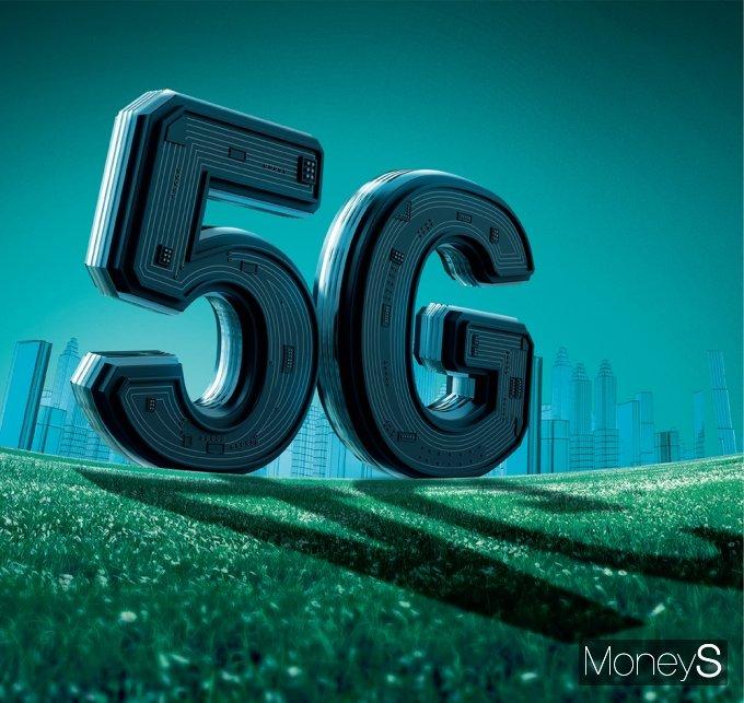 전 세계적인 5G 전환은 이제 시작이다. /그래픽=김은옥 기자