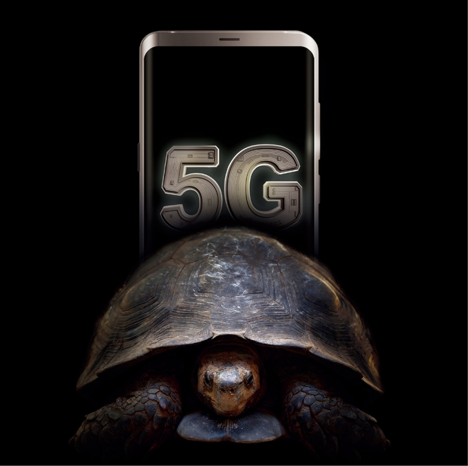 이통사는 5G가 상용화된 후 2년이 지난 지금까지 28㎓ 대역 5G를 일반 소비자에게 서비스하지 않았다. /그래픽=김은옥 기자