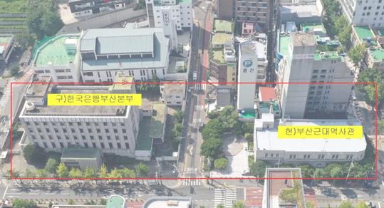 부산 근현대역사박물관의 위치./사진=부산시청 제공
