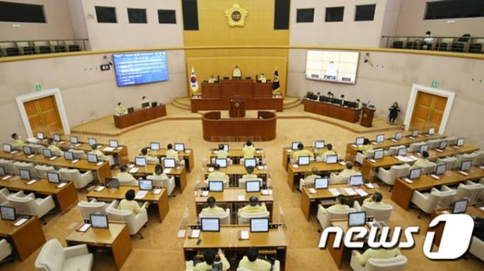 대전시의회 본회의 장면. /사진=뉴스1