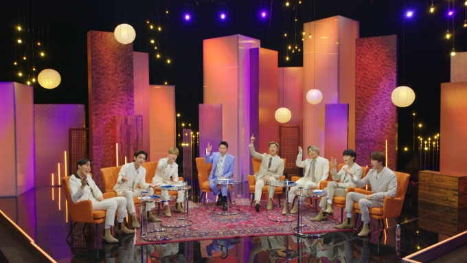 그룹 방탄소년단이 KBS 2TV '스페셜 토크쇼:렛츠 BTS(Let's BTS)'에 출연해 팬들과 만난다. /사진=KBS 제공