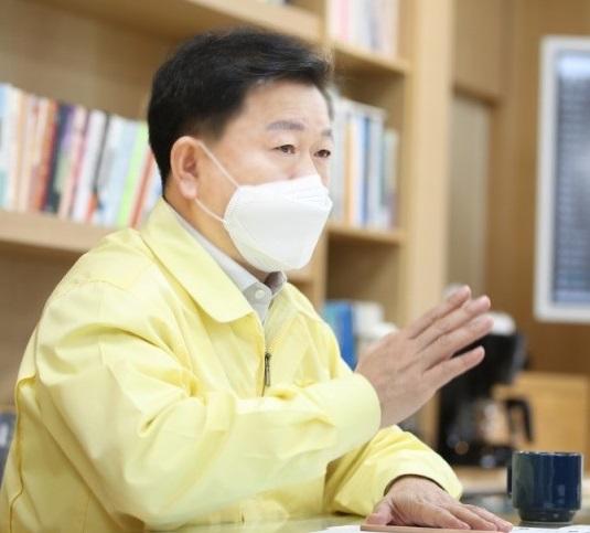 박승원 광명시장. / 사진제공=광명시