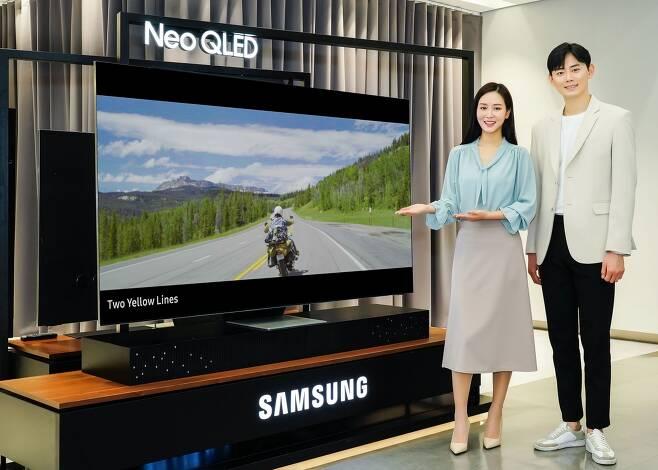 삼성전자 네오 QLED 8K TV. / 사진=삼성전자