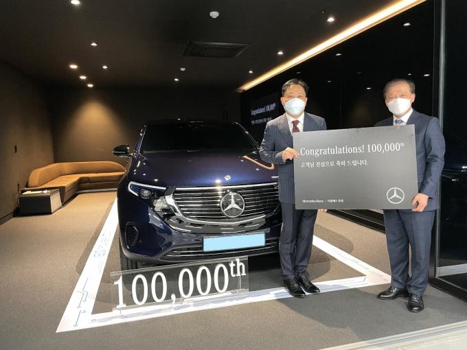 더클래스 효성이 '고객 만족' 가치 실현으로 누적 자동차 판매 10만대를 돌파했다./사진=더클래스 효성