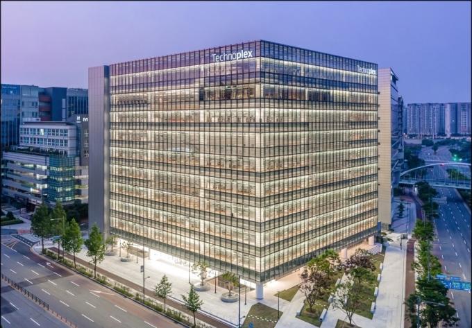 한국타이어앤테크놀로지 판교 본사./사진=한국타이어앤테크놀로지