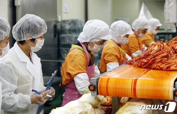 우리나라에서 수입하는 김치는 99.9%가 중국산이다. 식당과 급식 업소 등에서 저렴한 중국산 김치를 주로 사용한다. /사진=뉴스1