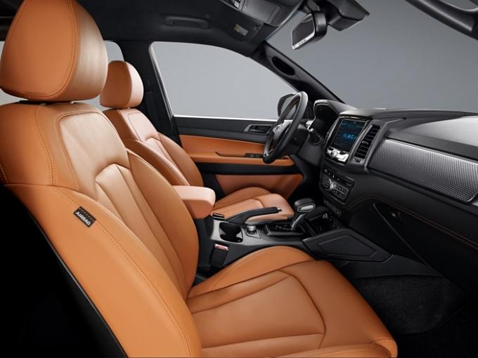 신형 스포츠&칸은 경쟁 모델과 달리 이용자가 용도 및 니즈에 따라 데크 스펙을 모델별로 선택할 수 있다. /사진제공=쌍용자동차