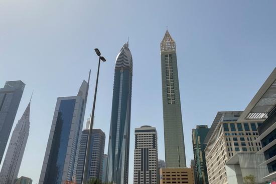 두바이 초고층 건물에서 나체 촬영을 한 여성 모델 10여명이 현지 경찰에 붙잡혔다. 사진은 아랍에미리트 두바이에 위치한 한 호텔. 사진은 기사 내용과 무관. /사진=로이터