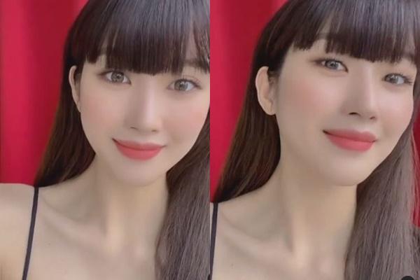 배우 문가영이 앞머리를 자르고 색다른 스타일을 선보였다./사진=문가영 인스타그램