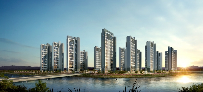 우미건설은 4월 인천 검단신도시 택지개발지구 AA8, AB1블록에서 '검단신도시 우미린 파크뷰'를 분양한다. /사진제공=우미건설