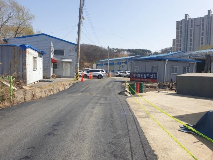 경기 광주시는 오포읍 문형리 814 일원 '문형리 상하수 관로정비 및 확충사업'을 완료했다고 8일 밝혔다. / 사진제공=경기 광주시