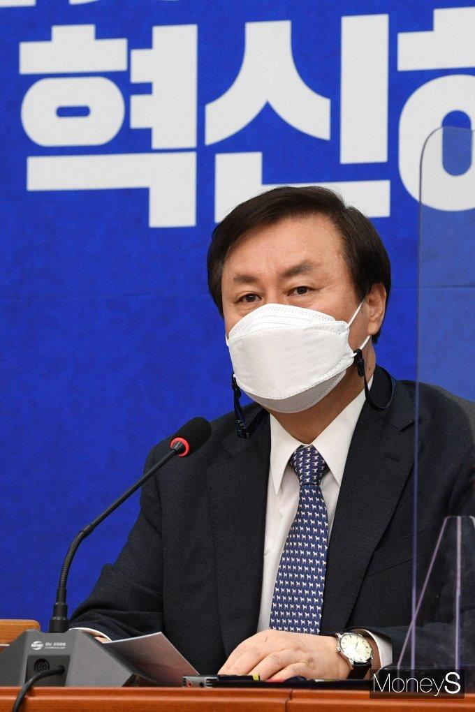 [머니S포토] 도종환 위원장, 비상대책위원회의 주재