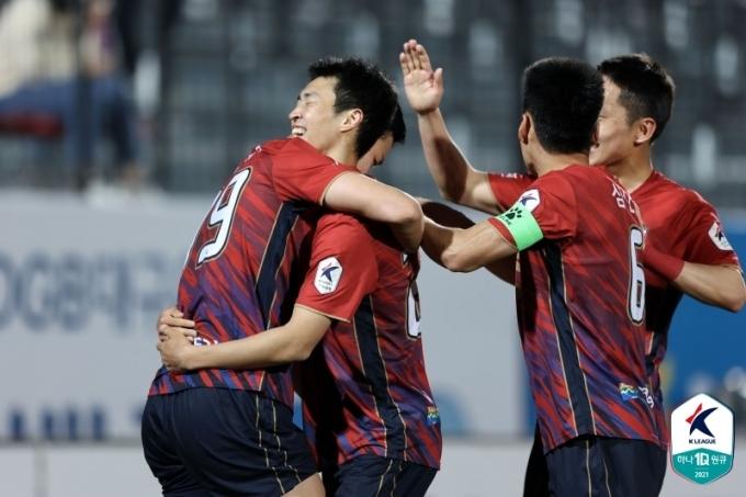 김천상무는 부천을 1-0으로 이겼다.(한국프로축구연맹 제공)© 뉴스1