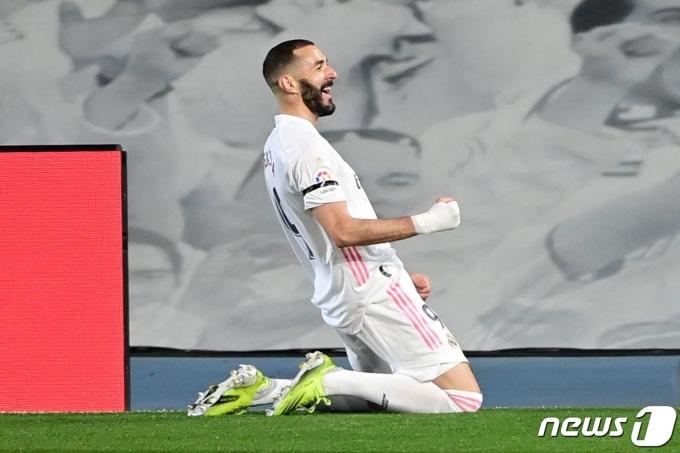 레알 마드리드 골잡이 카림 벤제마 © AFP=뉴스1