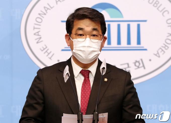 배준영 국민의힘 대변인. 2020.12.24/뉴스1 © News1 박세연 기자