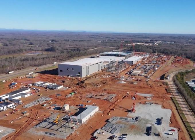 미국 조지아주 제1배터리 공장 건설 현장(SK이노베이션 제공) © 뉴스1