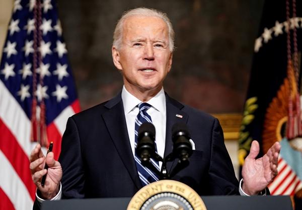 조 바이든 미국 대통령이 미국 워싱턴 백악관 국무회의에서 발언을 하고 있다. /사진=로이터