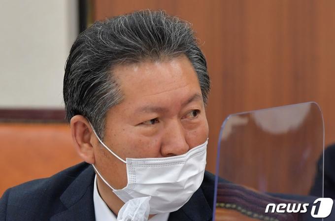 정청래 더불어민주당 의원 2020.12.4/뉴스1 © News1 성동훈 기자