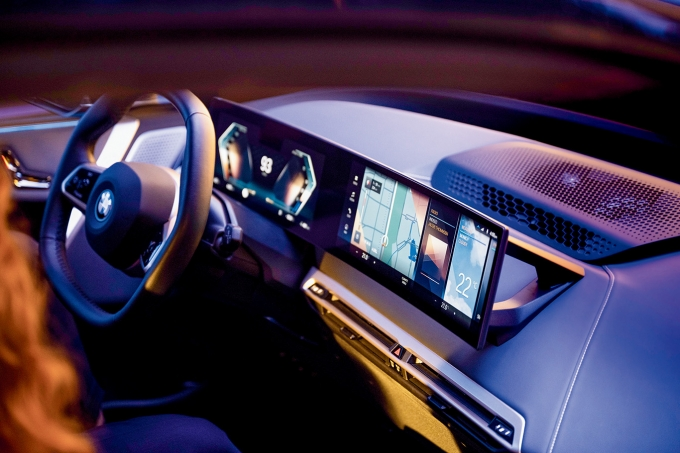 BMW 8세대 iDrive. /사진제공=BMW