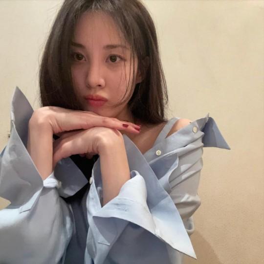 소녀시대 멤버이자 배우 서현이 김정현의 태도 논란 속 팬들에게 고마움을 전했다. /사진=서현 인스타그램