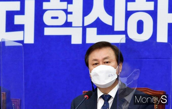 """[머니S포토] 도종환 """"원내대표 선거, """"질서 있는 쇄신의 첫걸음 될 것"""""""