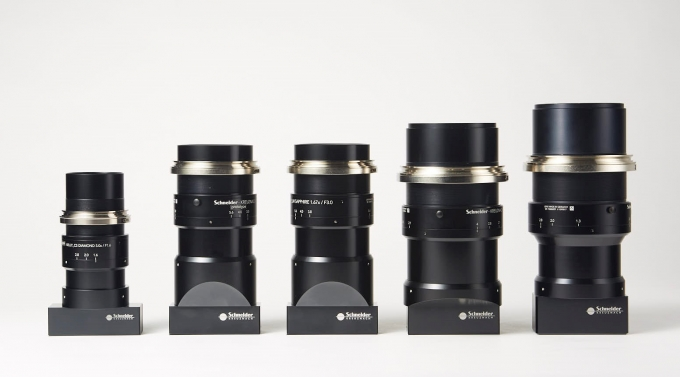 뷰웍스가 독일 슈나이더와 개발한 하이엔드 산업용 렌즈. / 사진=뷰웍스