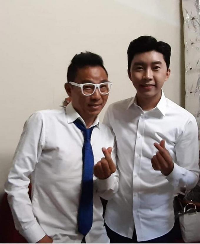 코미디언 김철민이 임영웅에 감사인사를 전했다. /사진=김철민 페이스북