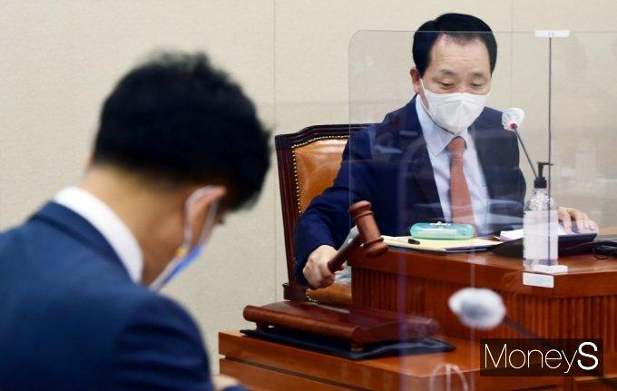 [머니S포토] 국회 정무위 소위, 오늘 '이해충돌방지법' 논의