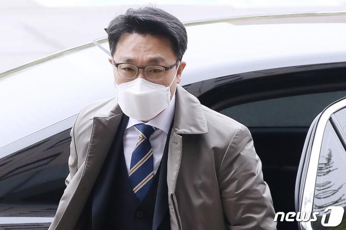 김진욱 고위공직자범죄수사처(공수처) 처장 2021.4.12/뉴스1 © News1 민경석 기자