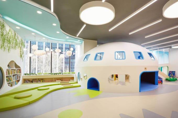 쿠팡은 직장 어린이집 '쿠키즈' 선릉점를 개원했다. /사진=쿠팡