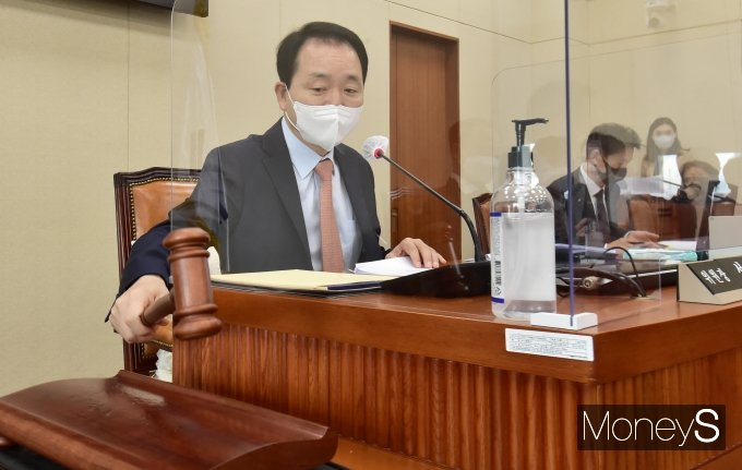 [머니S포토] '이해충돌방지법' 오늘 국회 정무위 통과하나