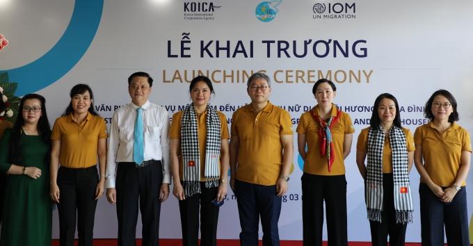 코이카는 13일(현지시각) 베트남 하이퐁시에 귀환 이주여성들을 대상으로 상담·교육·법률자문 서비스 제공하는 원스톱지원센터(One-Stop Service Office, OSSO)를 개소했다. /사진=코이카