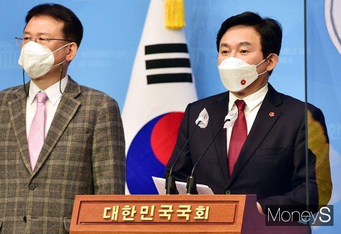 """[머니S포토] 원희룡 """"日 오염수 일방적 방류 결정, 최후 수단으로 법적 대응"""""""