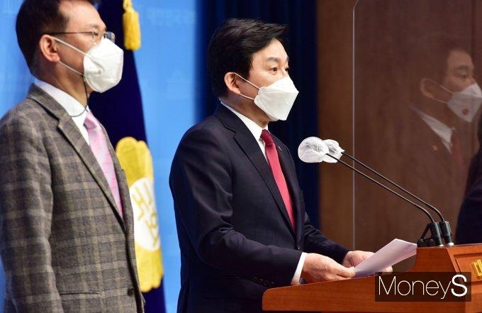 """[머니S포토] 원희룡 """"日 원전 오염수 방류, 제주 민·형사소송 등 소송 진행 고려"""""""