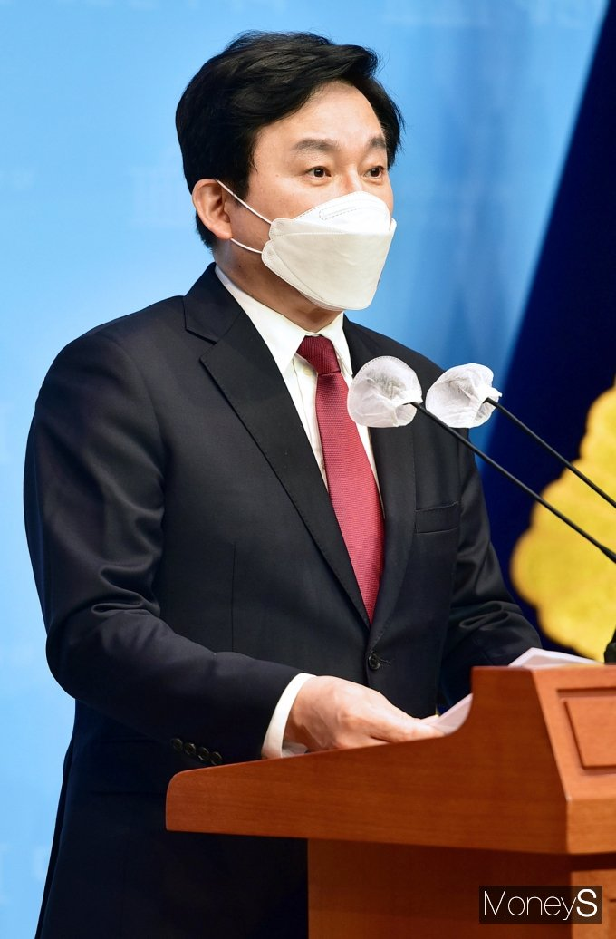 """[머니S포토] 원희룡 지사 """"日 오염수 방류, 인접국과 국민에 대한 폭거"""""""