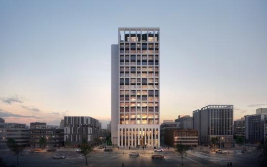 고급 오피스텔 '상지카일룸M'은 지하 3층~지상 17층 51~77㎡ 오피스텔 88실로 조성된다. /사진제공=상지카일룸