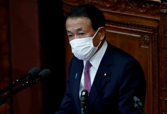 """아소 또 망언 """"후쿠시마 오염수 마셔도 문제없다"""""""