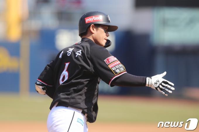 박경수는 개인 통산 150홈런을 기록했다. © News1 공정식 기자