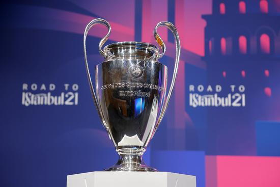 유럽축구연맹(UEFA) 챔피언스리그 우승 트로피. /사진=로이터