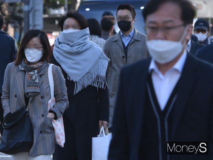 [머니S포토] 출근길 '춥다 추워'