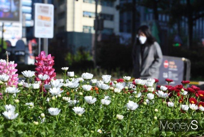 [머니S포토] '꽃샘추위 15일까지'