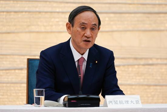 후쿠시마 오염수 방류가 10월 중의원 선거에서 가장 큰 쟁점이 될 것으로 보인다. 사진은 스가 요시히데 일본 총리가 회의 중인 모습. /사진=로이터