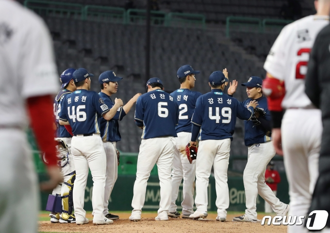 NC 다이노스가 SSG 랜더스를 꺾고 5연승을 이어갔다. /뉴스1 © News1 박정호 기자