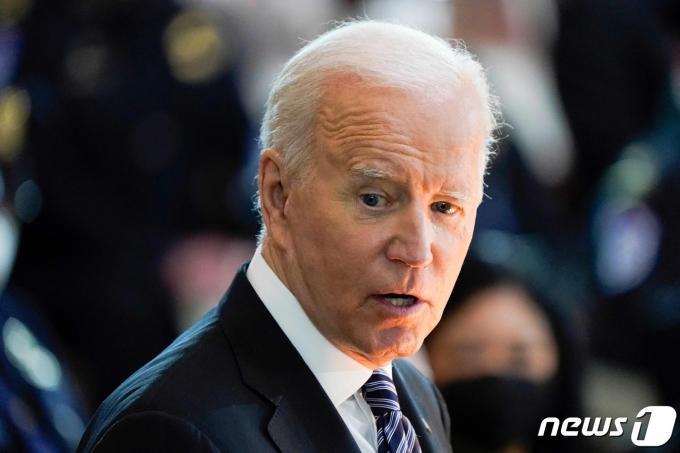 조 바이든 미국 대통령© AFP=뉴스1 © News1 우동명 기자
