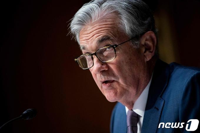 제롬 파월 미 연방준비제도(Fed) 의장© AFP=뉴스1