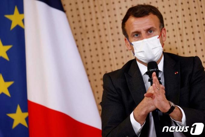 에마뉘엘 마크롱 프랑스 대통령 <자료사진> © AFP=뉴스1