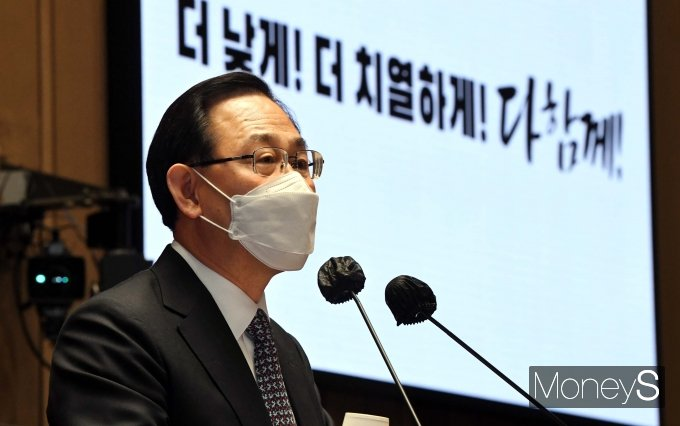 """[머니S포토] 주호영 """"개각은 물갈이 퍼포먼스 아닌 '국정전환' 필요"""""""