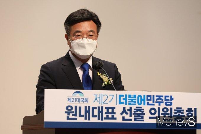 """[머니S포토] 윤호중 """"검찰·언론개혁 흔들림없이 추진"""""""