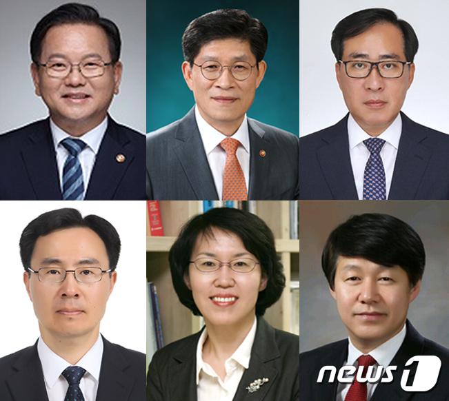 국무총리 김부겸 전 행자부 장관 지명… 5개 부처 개각